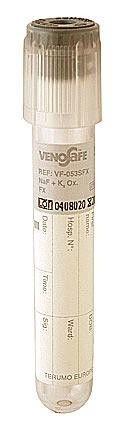 Пробирка вакуумная Terumo Venosafe с Na-фторид и K2-Оксалат