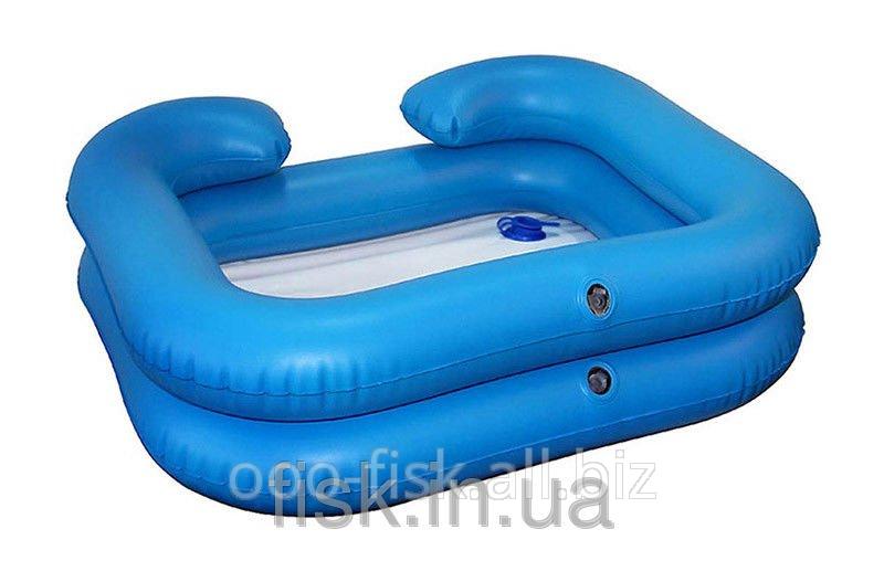 Надувная ванночка для мытья головы, синяя ОSD