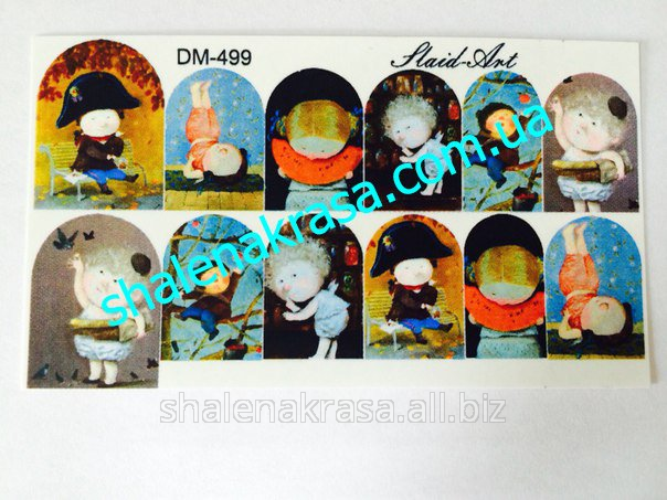 Купить Наклейка на ногти Sliders art DM - 499
