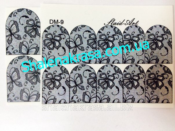 Купить Наклейка на ногти Sliders art DM - 9