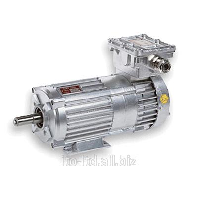 Купить Взрывозащищенный электродвигатель с электромагнитным тормозом Cemp серия VF алюминий