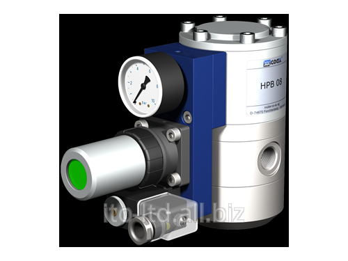 Купить Клапан с пневмоприводом HPB 08