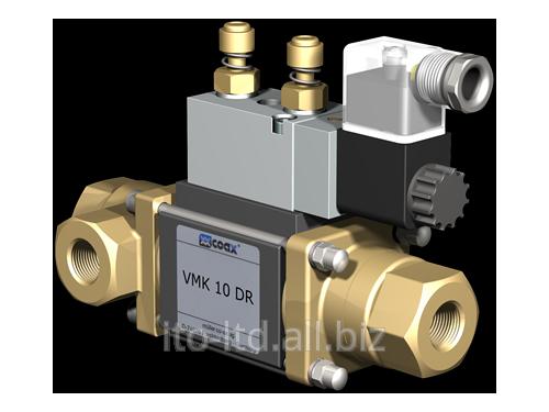 Купить 3/2 ходовый коаксиальный клапан с пневмоприводом VMK 10 DR
