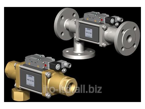 Купить 3/2 ходовый коаксиальный клапан с пневмоприводом VMK / VFK 32 DR