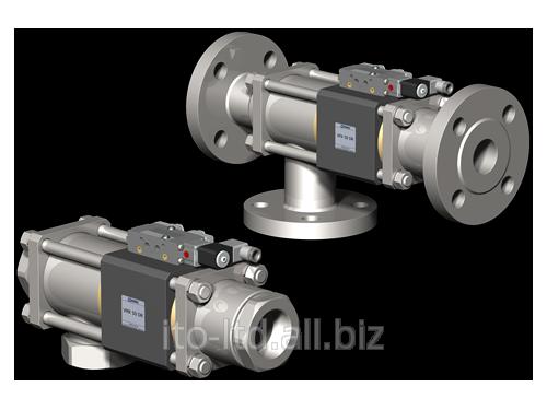 Купить 3/2 ходовый коаксиальный клапан с пневмоприводом VMK / VFK 50 DR