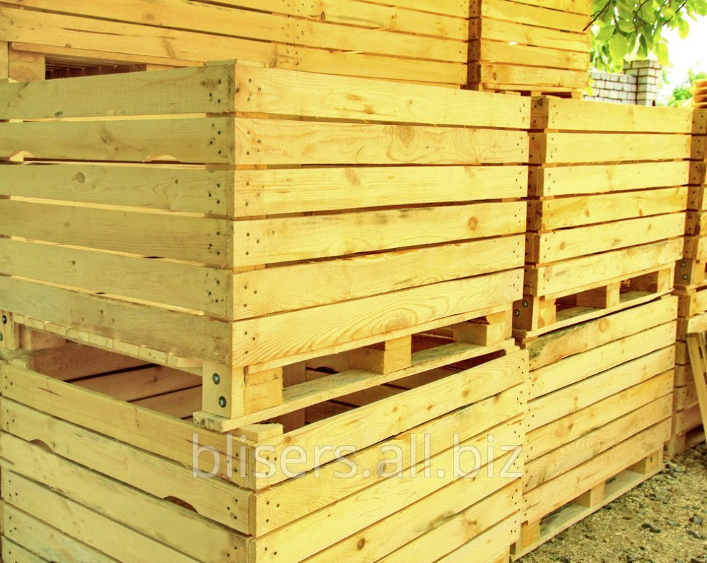 Buy The container wooden for apples