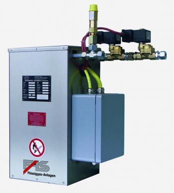Испарители косвенного электрического подогрева (электрические испарители) и испарительные установки СУГ тип FAS 2000.
