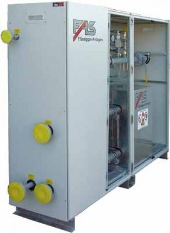 Испарительные установки на базе испарителей FAS 3000 повышенной производительности