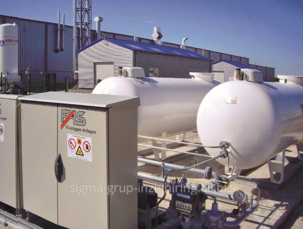 Buy Stations of autonomous and reserve gas supply