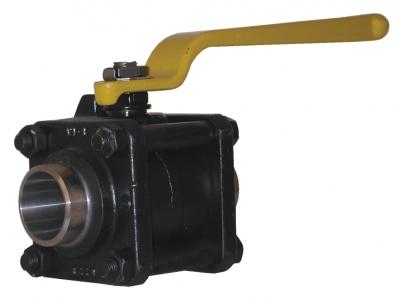 Шаровой клапан PN40 тип Mecafrance, рукоятка, аттестат 3.1.В EN 10 204