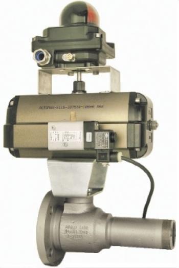 Быстрозакрываемый полнопроходной шаровой клапан PN40, исполнение «FireSafe» (BS 6755-2), антистатическое, с аттестатом 3.1.В EN 10 204