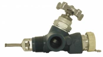 Донный сливной клапан PN25 со скоростным контролем
