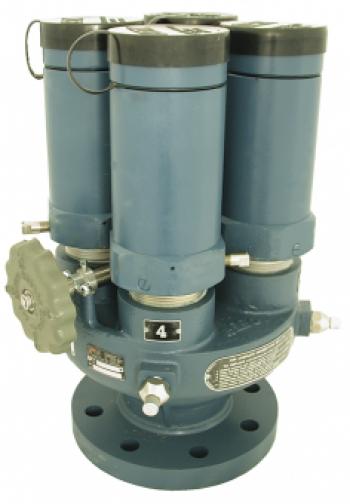 Клапан-переключатель Multiport PN25, с защитным колпачком