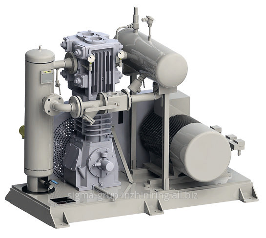 Buy Piston compressor FAS-CORKEN units for an overload of SUG and ammonia waterless