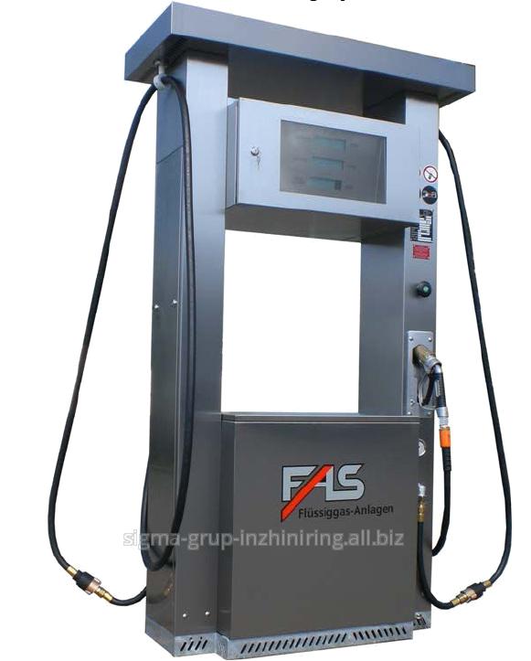 Двухпистолетная ГРК FAS-230 HM с объемно-массовыми расходомерами