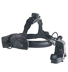 Непрямой бинокулярный офтальмоскоп с зарядным блоком на шлеме Omega 500 Unplugged