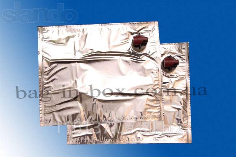 Bag-In-Box упаковка, асептические мешки