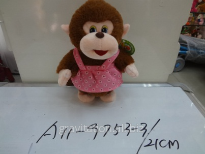 Игрушка мягкая обезьянка, модель MY-009, артикул A11-9753-3/21CM