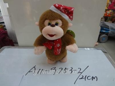 Игрушка мягкая обезьянка, модель MY-010, артикул A11-9753-2/21CM