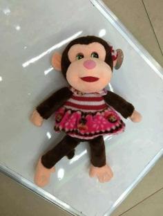 Игрушка мягкая обезьянка, модель MY-018