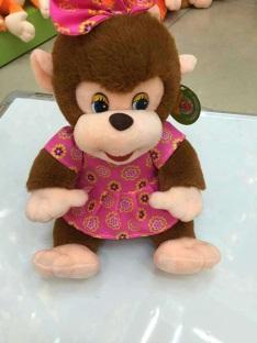 Игрушка мягкая обезьянка, модель MY-021