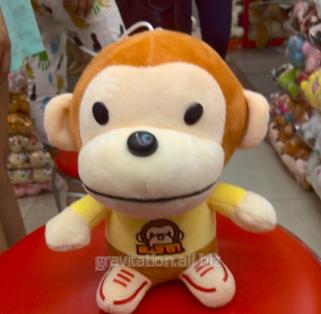 Игрушка мягкая обезьянка, модель S004