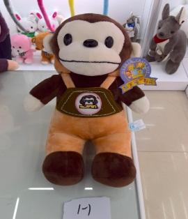 Игрушка мягкая обезьянка, модель S1-1