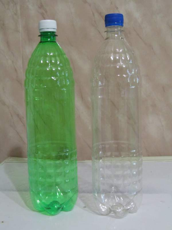 Buy PET 1,5L bottle from the producer, Donetsktara pressed plastic in Ukraine