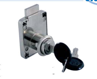 "Buy Locks just for decoration RIM LOCK No. 850 - 35 mm BACKSET ""MIC"