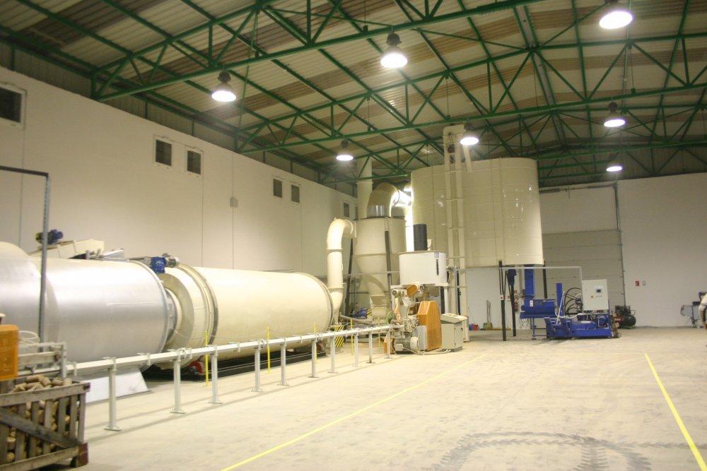 Линия брикетирования 800-1100  кг/ч Nestro
