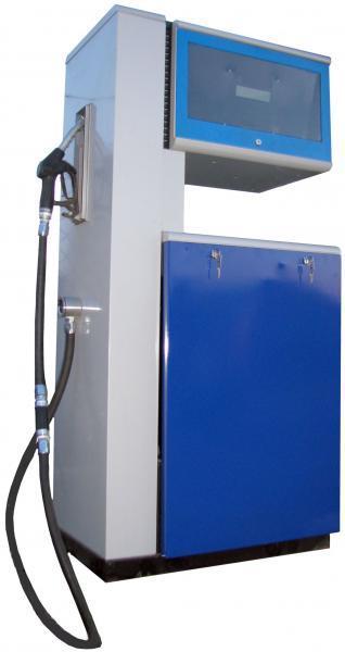Колонка топливораздаточная, синяя, нового образца
