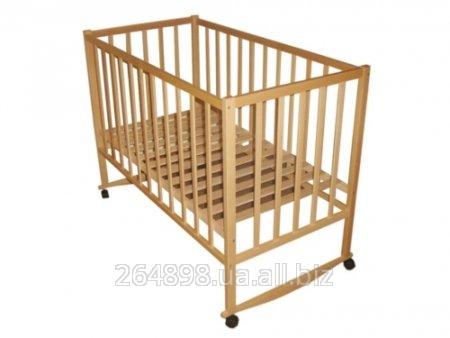 Ліжко дитяче деревяне