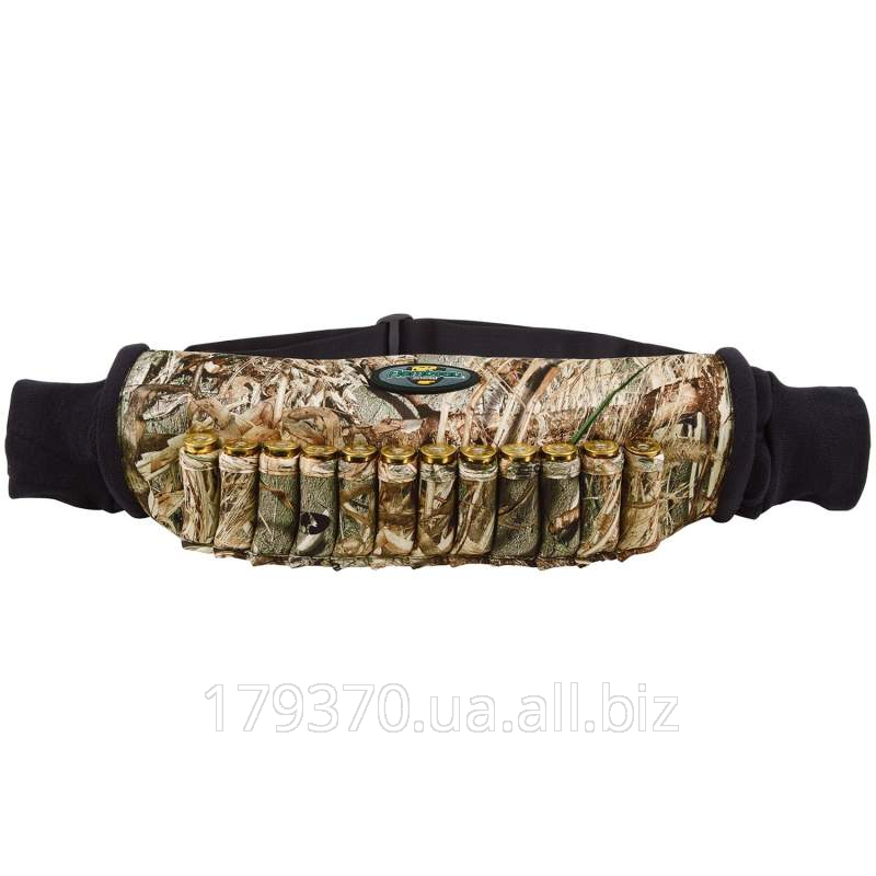 The cartridge belt neoprene with the coupling for hands of Flambeau Neoprene Shell Holder Hand Muff