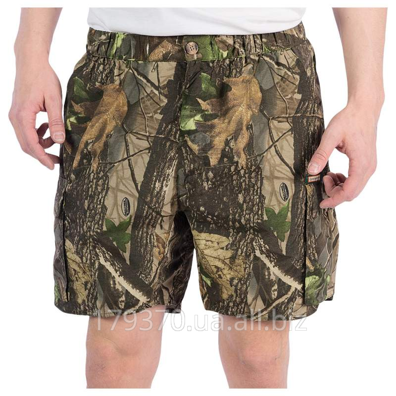 Shorts for hunting and fishing of Remington Rem-Lite Camo Shorts