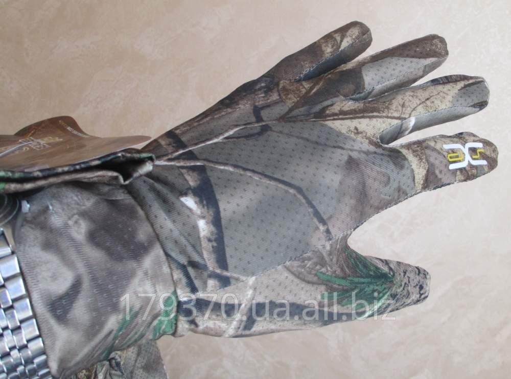 Перчатки охотничьи легкие Hot Shot Men's Realtree AP Mesh gloves