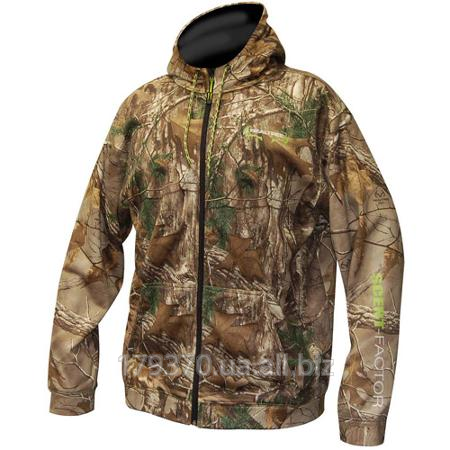 Толстовка охотничья Realtree Xtra men's scent factor zip hoody