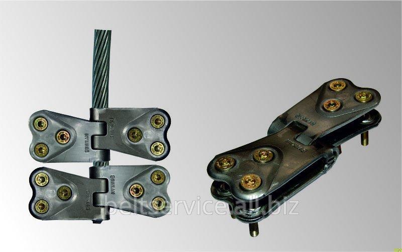 Вулкан - Монолит 120/1250 - механическое шарнирное стыковое соединение конвейерных лент