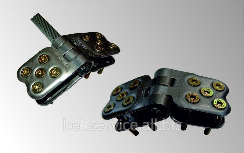 Вулкан - Монолит 120/2000 - механическое шарнирное стыковое соединение конвейерных лент