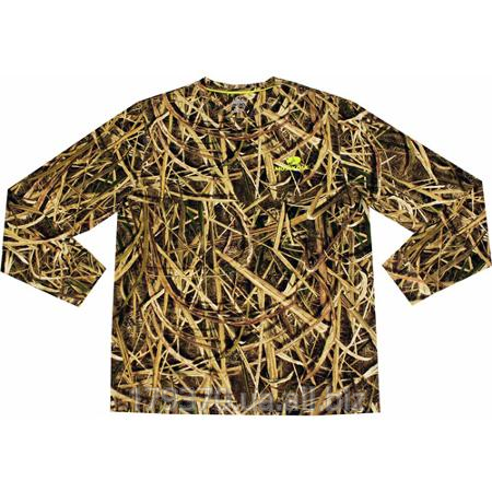 Футболка охотничья Mossy Oak Blades Men's Olive Long Sleeve Tee