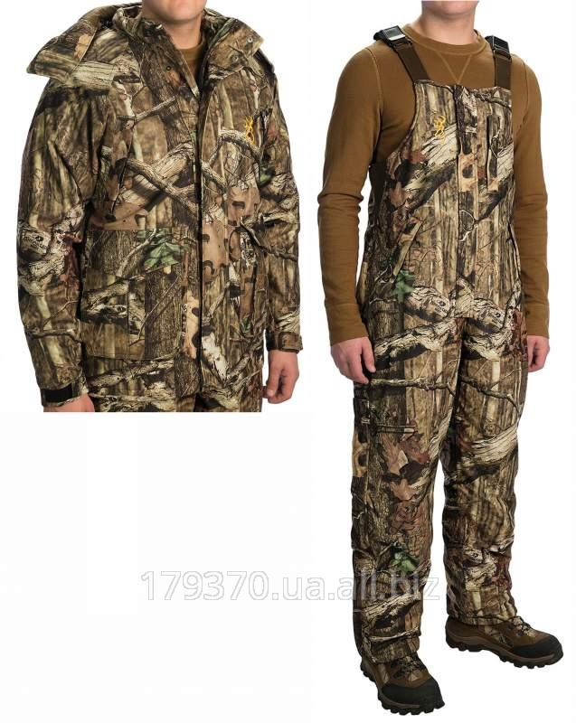Костюм охотничий теплый Browning Wasatch Rain Parka & Bib overalls