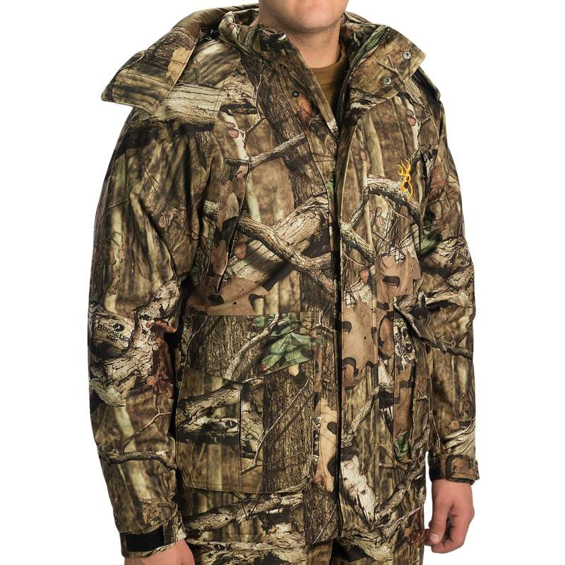 Jacket hunting warm Browning Wasatch Rain Parka