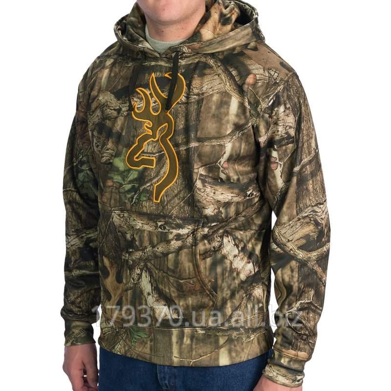 Толстовка охотничья Browning Wasatch Performance Fleece Hoodie Sweatshirt