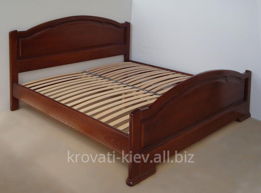 """Купить Двуспальная деревянная кровать """"Ирина"""" в Тернополе"""