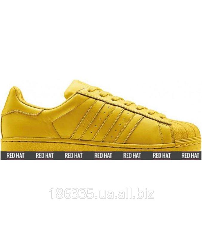 4bdf989047f5a7 Кроссовки Adidas Superstar x Pharrell Williams Bright Yellow арт. 23180