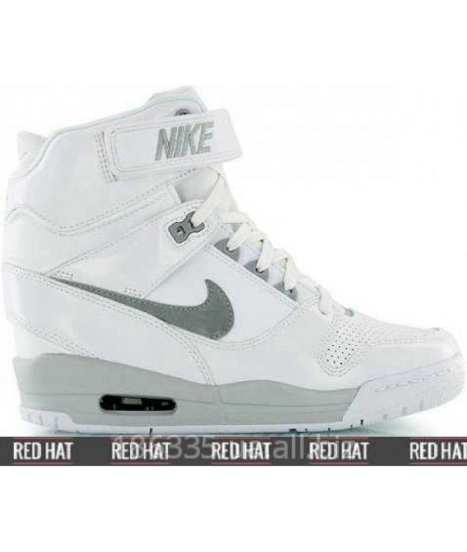 97cd2a1e70a5 Nike Air Revolution Sky Hi White Wolf Grey sneakers art. 23105 buy ...
