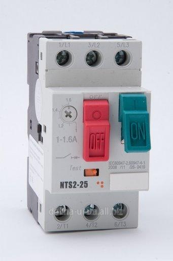 Купить Автомат защиты двигателя АВЗД 2000/3-1 0,63-1А