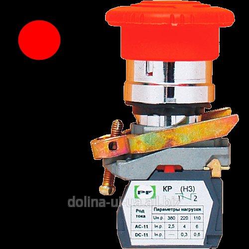 Купить Выключатель кнопочный ВК-011 ККБ 2-х 1З без фикс.