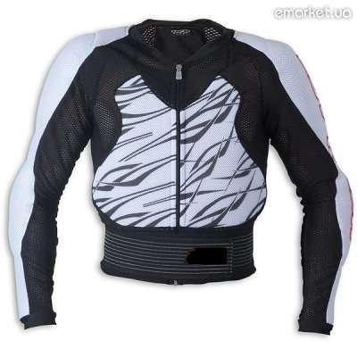 Купить Летняя защитная куртка на сетке для мотоциклистов и скутеристов