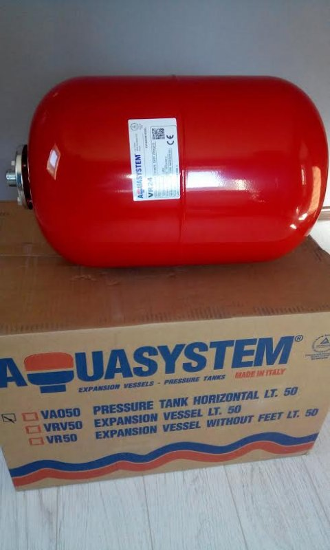Broad tank of 5 liters Aquasystem (Italy)