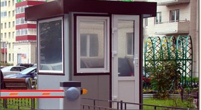 Купить Посты охраны. Блок пост охраны. Крым. Здания модульные, мобильные.